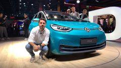 Nuova Volkswagen ID.3 in video dal Salone di Francoforte 2019 - Immagine: 1