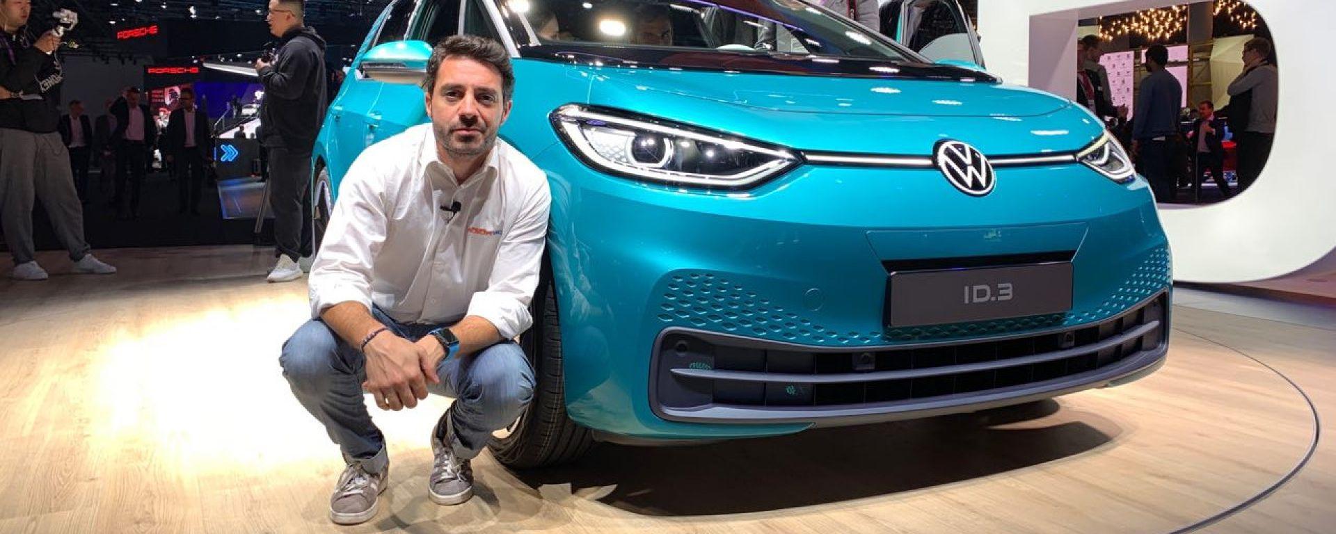 Nuova Volkswagen ID.3 a Francoforte 2019