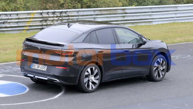 Nuova Volkswagen ID.5, vista posteriore