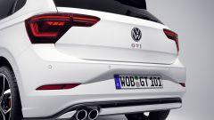 Nuova Volkswagen Polo GTI 2021: visuale del posteriore