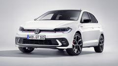 Nuova Volkswagen Polo GTI 2021: visuale di 3/4 anteriore