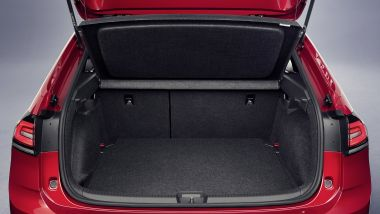 Nuova Volkswagen Taigo: capiente il baule
