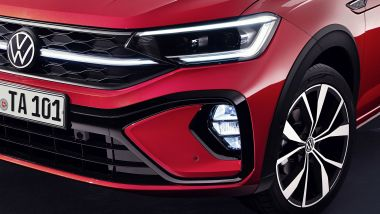 Nuova Volkswagen Taigo: dettagli dell'allestimento R-Line
