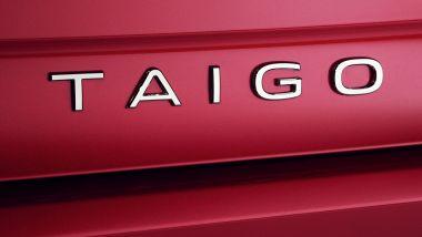 Nuova Volkswagen Taigo: il lettering sul portellone