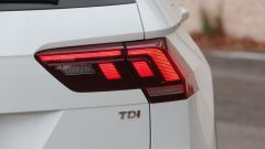 Nuova Volkswagen Tiguan 1.6 TDi: dettaglio dei fanali posteriori