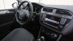 Nuova Volkswagen Tiguan 1.6 TDi: la plancia