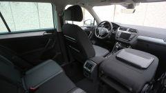 Nuova Volkswagen Tiguan 1.6 TDi: panoramica degli interni