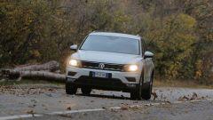 Nuova Volkswagen Tiguan 1.6 TDi: vista frontale