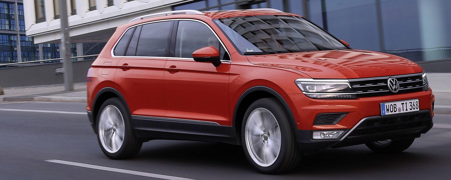 Volkswagen Tiguan 2016: il video della prova