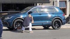 Nuova Volkswagen Tiguan, la prima foto del facelift - Immagine: 2