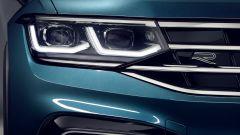 Nuova Volkswagen Tiguan 2021: i nuovi proiettori anteriori