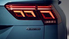 Nuova Volkswagen Tiguan 2021: le nuove luci posteriori