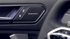 Nuova Volkswagen Tiguan 2021: particolare dell'impianto stereo Harman & Kardon