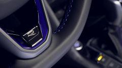 Nuova Volkswagen Tiguan 2021 R: particolare del volante