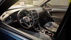 Nuova Volkswagen Tiguan 2021: vista dell'abitacolo