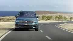 Nuova Volkswagen Tiguan 2021: visuale frontale