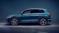 Nuova Volkswagen Tiguan 2021: visuale laterale
