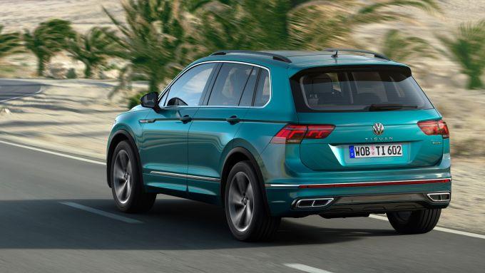 Nuova Volkswagen Tiguan, prezzi da 31.150 euro