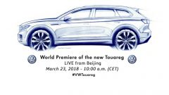 Nuova Volkswagen Touareg: la presentazione in diretta video - Immagine: 2