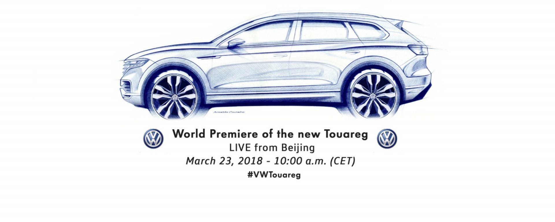Nuova Volkswagen Touareg: la presentazione in diretta video