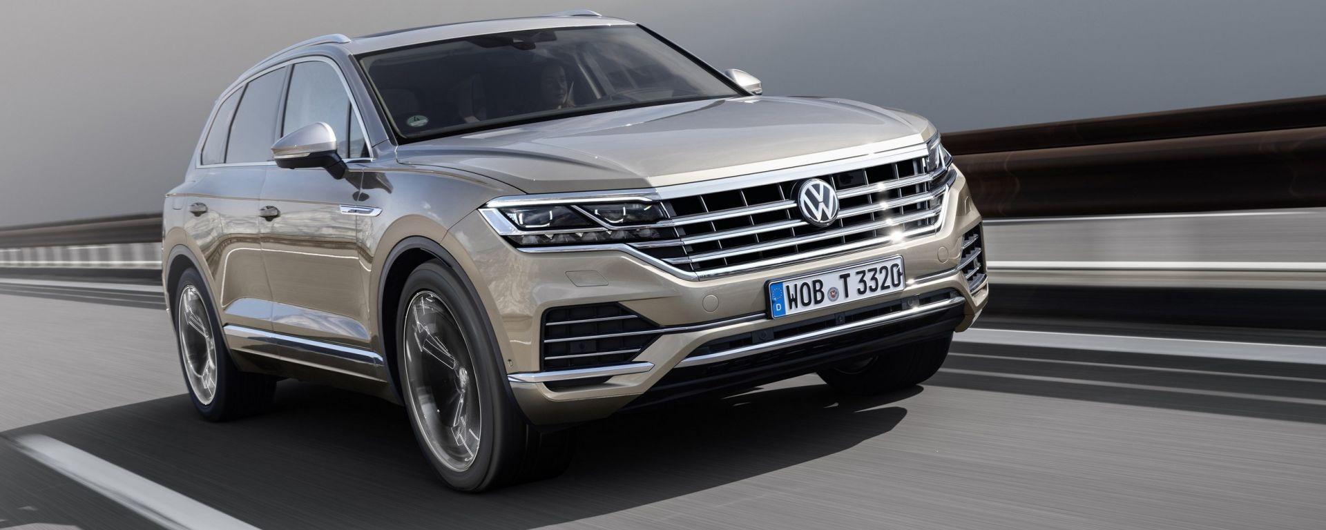 Nuova Volkswagen Touareg 2018: salto di categoria