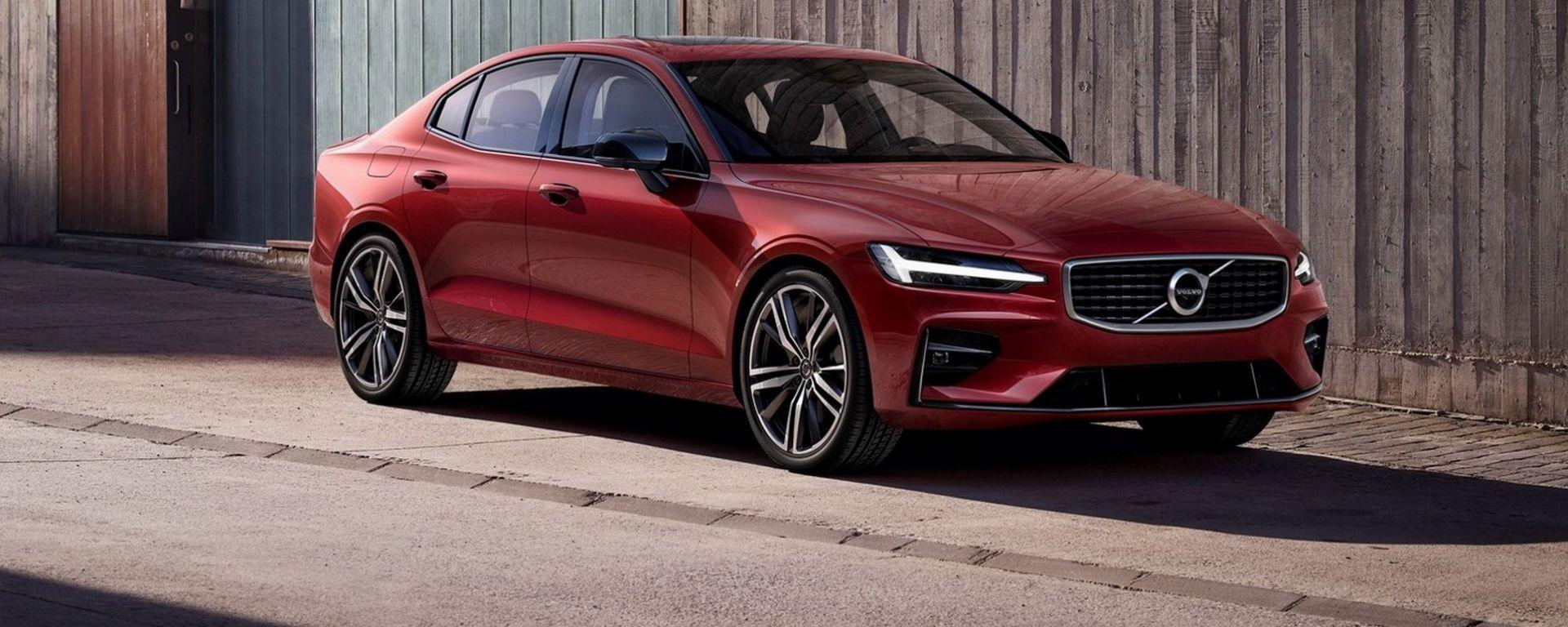 Ecco la nuova Volvo S60: non c'è diesel