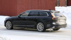 Nuova Volvo Serie 90: il posteriore con i fari verticali a LED e il nuovo paraurti