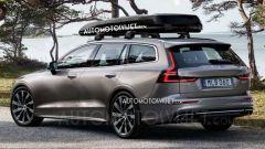 """Nuova Volvo V60 2018: le prime foto """"rubate"""" - Immagine: 1"""