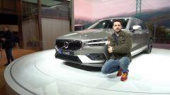 Nuova Volvo V60 2018: in video dal Salone di Ginevra 2018