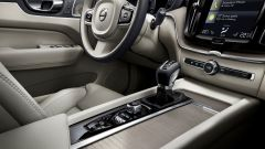 Nuova Volvo XC60 2017: dettaglio del pomellino per l'accensione del motore