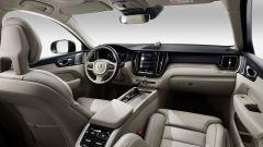 Nuova Volvo XC60: la plancia