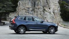 Nuova Volvo XC60: vista laterale