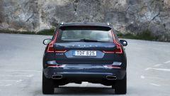 Nuova Volvo XC60: vista posteriore