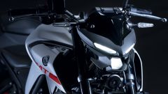 Nuova Yamaha MT-03: dettaglio frontale