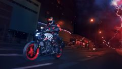 Nuova Yamaha MT-03: in movimento