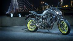Nuova Yamaha MT-07 2018 a Eicma 2017
