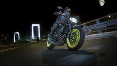 Nuova Yamaha MT-07 2018 su strada