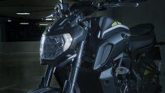 Nuova Yamaha MT-07 ecco il faro ispirato alla sorella MT-09