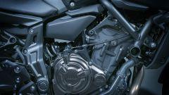 Nuova Yamaha MT-07, il motore è sempre lui, il bicilindrico crossplane da 698 cc