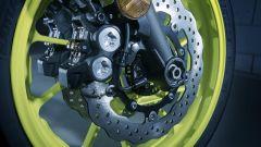 Nuova Yamaha MT-07, invariato anche l'impianto frenante, potente il giusto e ben modulabile