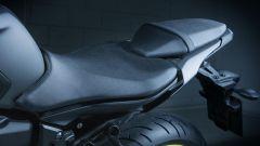 Nuova Yamaha MT-07, la sella ora è più lunga di 2 cm