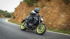 Nuova Yamaha MT-07: la prova su strada - Immagine: 6