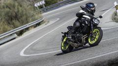 Nuova Yamaha MT-07: la prova su strada - Immagine: 18