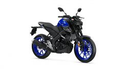 Nuova Yamaha MT-125 2020 blu