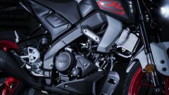 Nuova Yamaha MT-125 2020: il nuovo motore