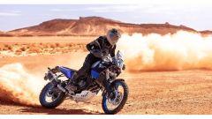 Nuova Yamaha Ténéré 700: in azione nel deserto