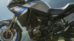 Nuova Yamaha Tracer 700: dettaglio della semi carena