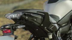 Nuova Yamaha Tracer 700: il faro posteriore è invaritato