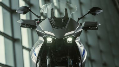Nuova Yamaha Tracer 700: il nuovo frontale