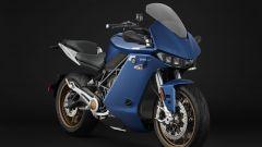 Nuova Zero Motorcycles SR/S: visuale di 3/4 anteriore